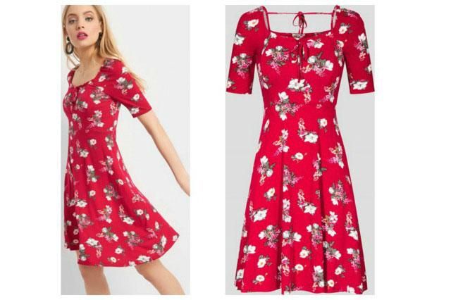 jakie dodatki do czerwonej sukienki